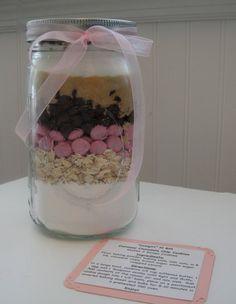 Cowgirl Cookie Mix In A Jar 16 oz by OldTimeFavorites on Etsy, $9.50