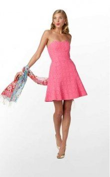 Bridesmaids Dress Lilly Pulitzer Pink Dress $100 #MillionDollarShoppersAndrea