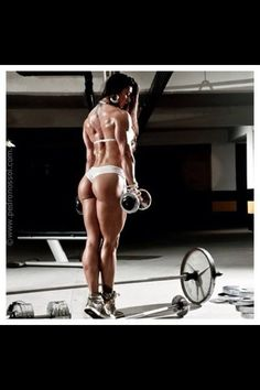 Women, Lift weights, they're good for ya...  Sincerely, Men