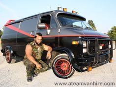 A-Team Van #MrT #GMC
