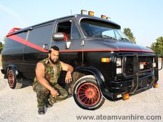 Mr. T's A-Team van was a 1983 GMC G-series