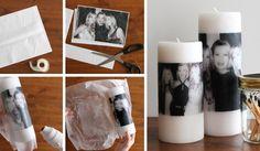 fotka na sviečke Voss Bottle, Water Bottle, Foto Transfer, Diy Wedding, Good Things, Day, Projects, Handmade, Inspiration