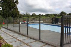 Semi Frameless Glass Pool Fencing - Auckland & Whangarei