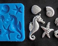 Silicone Mould SEA Sugarcraft Cake Decorating by StaceyDecor