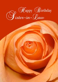 3415 Sister-in-Law Rose Religious Birthday Greeting Card Happy Bday Sister, Birthday Wishes For Daughter, Sister Birthday Quotes, Happy Birthday Sister, Happy Birthday Images, 60th Birthday, Spiritual Birthday Wishes, Birthday Blessings, Birthday Greeting Cards