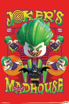 A Look At The LEGO Batman Movie Posters Range. – The Brick Show