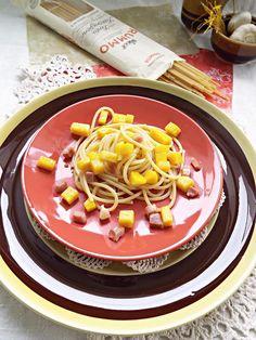 I biscotti della zia: Spaghetti alla zucca e pancetta #SaveRummo