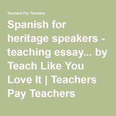 spanish essay grammar checklist
