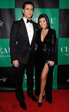 High Slit from Kourtney Kardashian's Mommy Style   E! Online