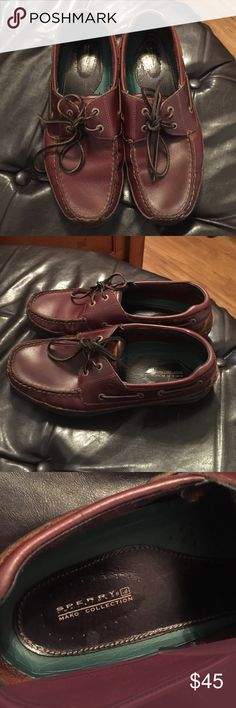 Sperry leather shoes-Mako Collection Great condition, true leather shoes. Great for going out or casual wear. Sperry Top-Sider Shoes Flats & Loafers