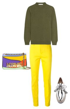 """Untitled #84"" by narrebybn on Polyvore featuring Dsquared2, Givenchy, Loeffler Randall, Moschino, women's clothing, women's fashion, women, female, woman and misses"