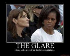 the-glare-michelle-obama-carla-bruni-sarkozy-glare-demotivational-poster-1244466818.jpg (400×320)