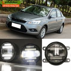 158.00$  Watch now - http://ali6qd.worldwells.pw/go.php?t=32669127071 - eeMrke Car Styling For Ford Focus 2 3 2009-2014 2 in 1 LED Fog Light Lamp DRL With Lens Daytime Running Lights 158.00$