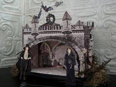 The Count's Castle Yes it does include, A free printable Paper Doll Cardboard Houses, Paper Dolls Printable, Theatres, Mixed Media Artists, Gourds, Play Houses, Puppets, Castles, Paper Art