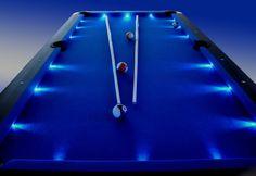 pool snooker pub billiards table led superbrite – Tables and desk ideas Best Pool Tables, Custom Pool Tables, Cool Tables, Custom Pool Table Felt, Pool Table Cloth, Pool Table Room, Billard Design, Billard Table, Basement Bar Designs