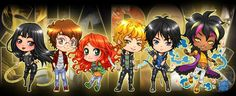From Xian Nu Studio ...  the mortal instruments, isabelle lightwood, simon lewis, clarissa 'clary' fray, jace herondale, alexander 'alec' lightwood, magnus bane