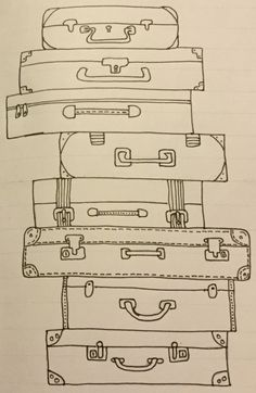 Places to visit or have visited bullet journal page