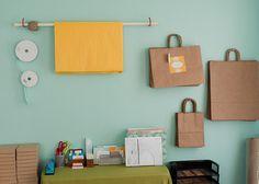 packaging, organization, teal