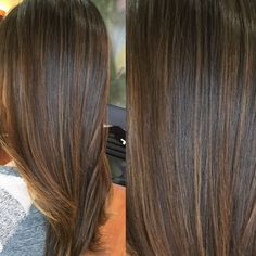Seamless sunkissed balayage highlights ☀️ #balayage #btcpics #hairpainting #brunettes #colormelt #highlights #sunkissed #healthyhair @behindthechair_com