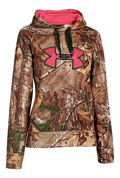 Under Armour ColdGear Big Logo Camo Hoodie for Ladies | Bass Pro Shops