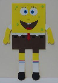 Spongebob, Symbols, Drawings, School Stuff, Handmade, Sponge Bob Birthday, Recycled Toys, Refrigerator, School