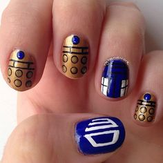 Doctor Who mani inspiration