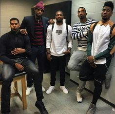 King James and the squad.