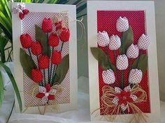 Quadro de tulipas