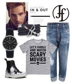 """""""FRANCOFLORENZI.COM 2"""" by fashion-336 ❤ liked on Polyvore featuring Dsquared2, Sebastian Professional, Dr. Martens, Monza, men's fashion and menswear"""