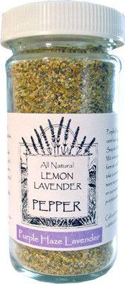 Lavender Lemon Pepper