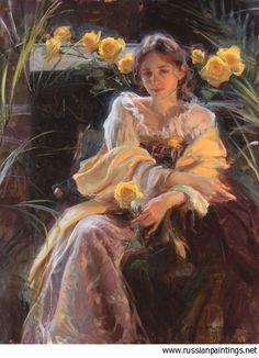 Gerhartz Daniel F. - 'Yellow Rose'