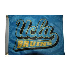Flagpole To Go GCUFL Collegiate Golf Cart Flag - 14 x 15 in. - GCUFL-UCLA