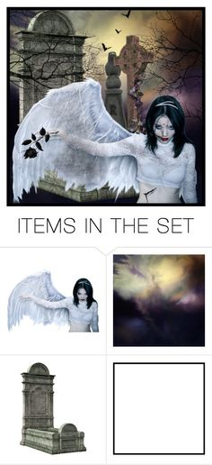"""""""Fallen Angel"""" by i-am-pam ❤ liked on Polyvore featuring art"""