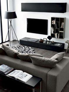 Adorable 80 Smart Solution Small Apartment Living Room Decor Ideas https://roomadness.com/2018/01/14/80-smart-solution-small-apartment-living-room-decor-ideas/
