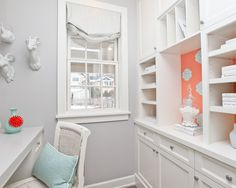 Home Office Accent Colors · All White In Montreal Design, Pictures, Remodel, Decor and Ideas