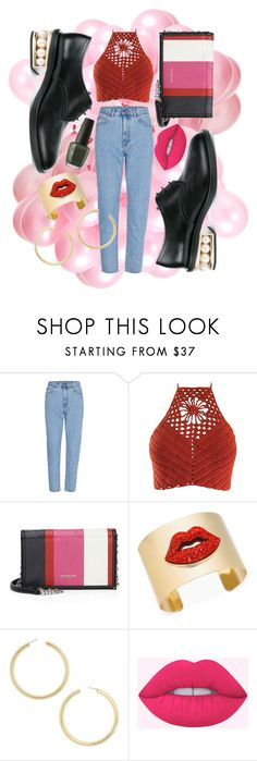"""wonderwall"" by linates ❤ liked on Polyvore featuring Balenciaga, Thalia Sodi and BaubleBar"
