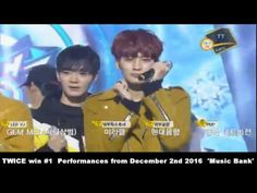 161202 TWICE WIN performa From 'MUSIC BANK' DESEMBER 2nd 2016