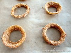 I've always loved onion rings but classic onion rings are usually deep fried, greasy and loaded with fat.  Plus they alwa...