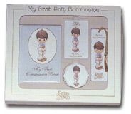 Precious Moments First Holy Communion Gift Set for boys