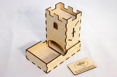 The Broken Token - Mini Dice Tower Kit, $9.99 (http://www.thebrokentoken.com/mini-dice-tower-kit/)