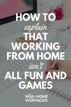 Working from home is much harder than people realize. You need to balance the unstructured freedom with the focus required to make working at home a successful venture. Here are five tips to help you and the people around you get into a smooth work-at-home groove. #workfromhome #workathome #business #freelance #work