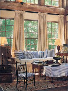 living room designed by Julia Garman