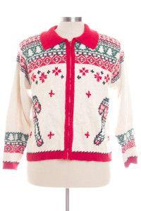 Multicolor Ugly Christmas Cardigan 28180