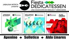 Esta semana llega a Santiago la Fiesta Delicatessen con la actuación de Apenino, Solletico y Aldo Linares.