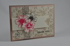 cards made with I love lace background stamp from Stampin Up - Google Search