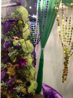 #Mardi Gras Display