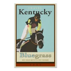 Kentucky- Vintage Travel Posters