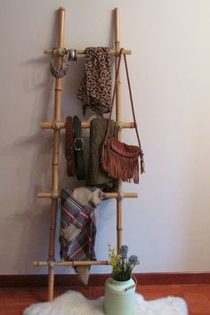 Neutradecor: DIY: Escalera de bambú