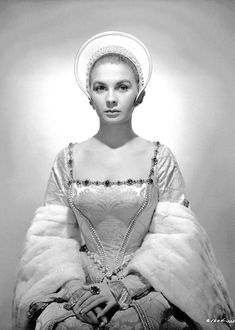 "Jean Simmons as Elizabeth I (""Young Bess,"" 1953)"