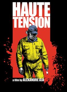 High Tension Free Horror Movies, Horror Movie Posters, Movie Poster Art, Horror Films, Scary Movies, Art Posters, Haute Tension, High Tension, Nightmare On Elm Street